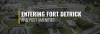 Entering Fort Detrick and Post Amenities